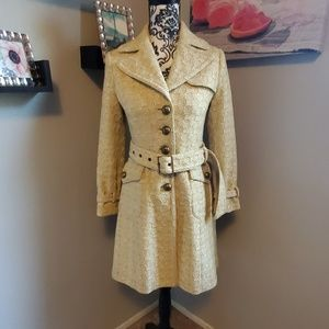 Banana Republic twill pea coat